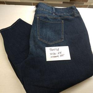 Torrid jeans size 28